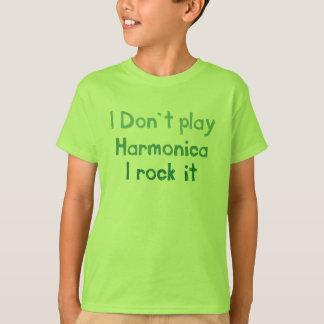 Harmonica Rock It - Kids n Babies T-Shirt