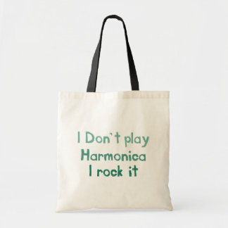 Harmonica Rock It Totebag Tote Bag