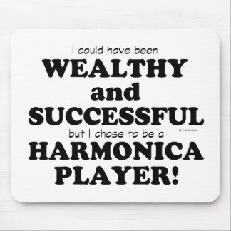 Harmonica Wealthy & Successful Mouse Pad