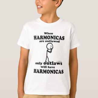 Harmonicas Outlawed T-Shirt