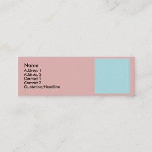 Compliment business cards zazzle harmonious color combination mix template mini business card fbccfo Choice Image
