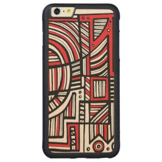 Harmonious Compassionate Compassionate Creative Carved Maple iPhone 6 Plus Bumper Case