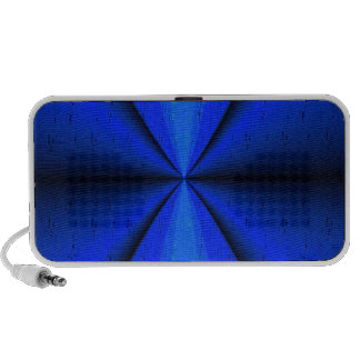 Harmonious Convergance Artistic Doodle Portable Speaker