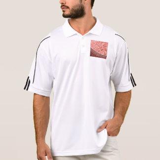 harmonious mix,peach polo shirt