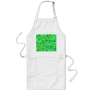 harmonious shamrocks long apron