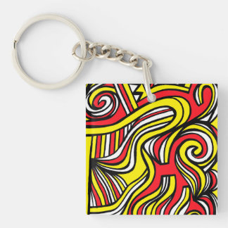 Harmonious Wealthy Superb Broad-Minded Keychain