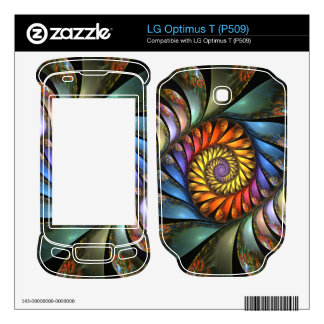 Harmonium LG Optimus T Skin