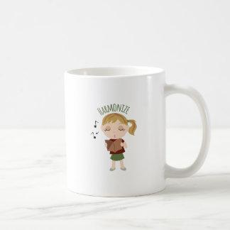 Harmonize Girl Classic White Coffee Mug