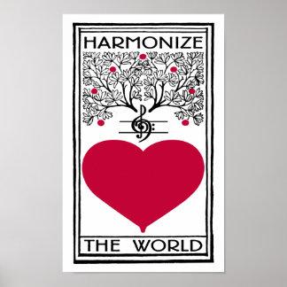 Harmonize The World Poster