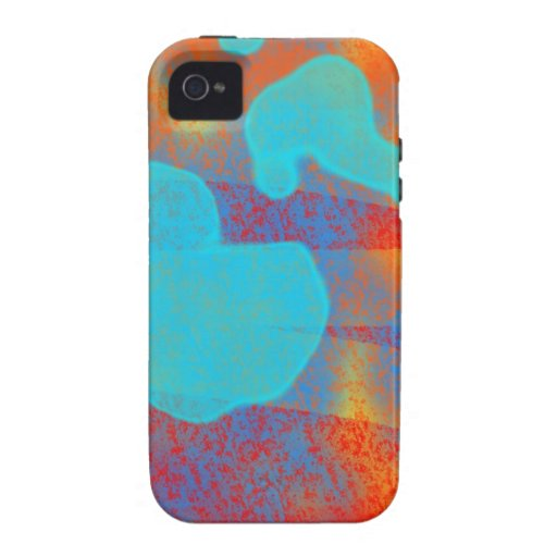 Harmony--Abstract Representation iPhone 4 Covers