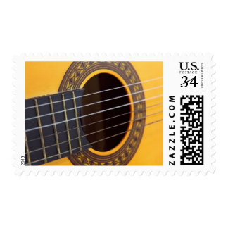 Harmony Acoustic Guitar Postage Stamp