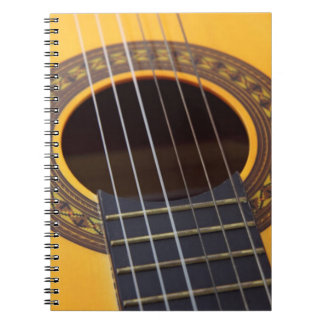 Harmony Acoustic Guitar Spiral Notebook