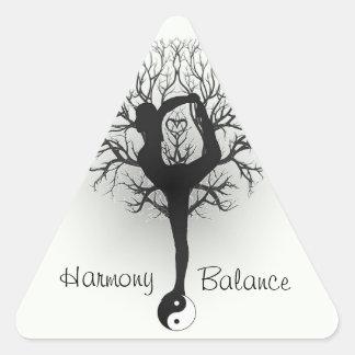 Harmony and Balance Customizable Sticker