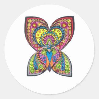 Harmony Angel Sticker