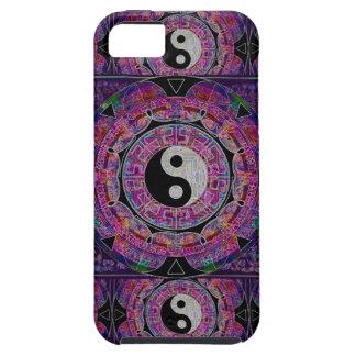 Harmony & Balance Purple Mandala iPhone 5 Case