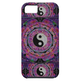 Harmony & Balance Purple Mandala iPhone SE/5/5s Case