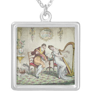 Harmony before Matrimony, 1805 Silver Plated Necklace