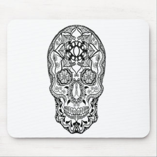 Harmony Black and White Mouse Pad