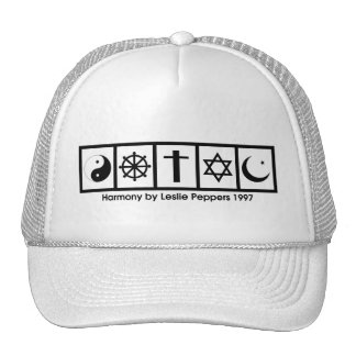 Harmony by Leslie Peppers Trucker Hats