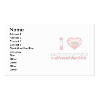 Harmony, CA Double-Sided Standard Business Cards (Pack Of 100)
