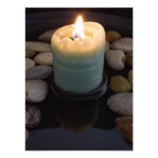 Harmony Candle Photo Print