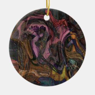 Harmony Chaos Ceramic Ornament