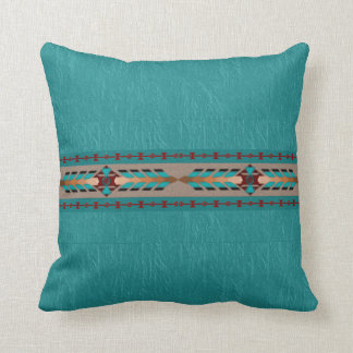 Harmony Cotton Throw Pillow 16x16 Pillow