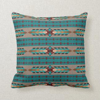 Harmony Cotton Throw Pillow 16x16 Throw Pillows