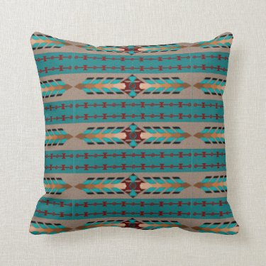 Harmony Cotton Throw Pillow 16x16