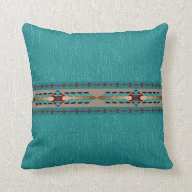 Harmony Cotton Throw Pillow 16x16 Pillow