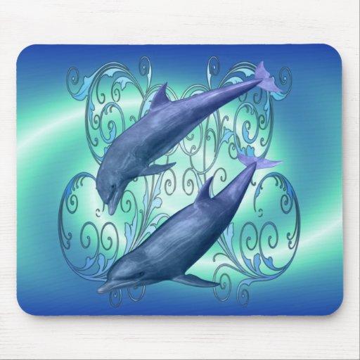 Harmony .. dolphins fantasy mouse pad