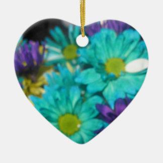 Harmony Double-Sided Heart Ceramic Christmas Ornament
