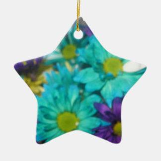 Harmony Double-Sided Star Ceramic Christmas Ornament