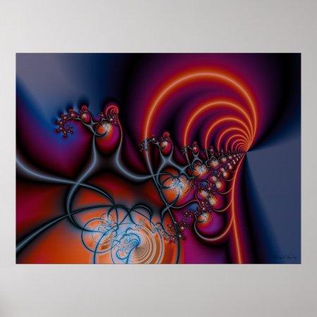 Harmony Fractal Poster