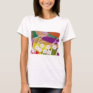 Harmony handle harmony pattern Japanese-Pattern T-Shirt