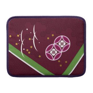 < Harmony handle (powdered tea azuki bean color) > MacBook Air Sleeve