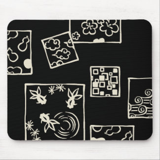 < Harmony handle square framework (male 蠣 color) Mouse Pad