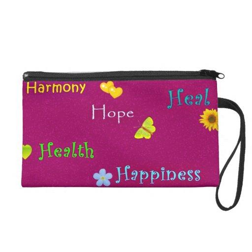 Harmony Heal and Health Wristlet in Purple