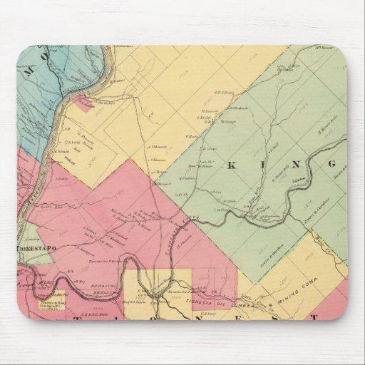 Harmony, Hickory, Kingsley, Tionesta townships Mouse Pad