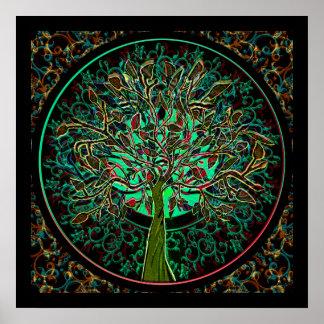 Harmony & Hope Tree of Life Poster
