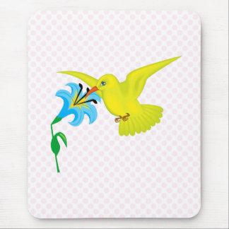 Harmony Hummingbird Mouse Pad