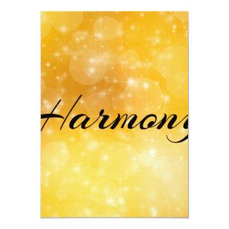 Harmony 5x7 Paper Invitation Card