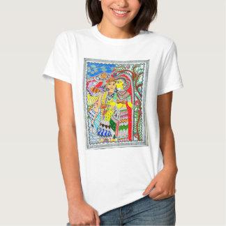 """""""Harmony"""" - Madhubani Painting T-shirt"""