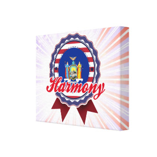 Harmony NY Stretched Canvas Prints