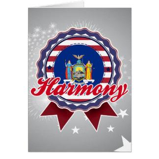Harmony NY Greeting Cards