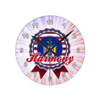 Harmony NY Wall Clocks