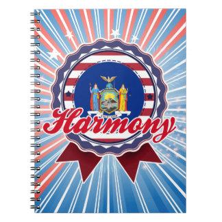 Harmony NY Note Books