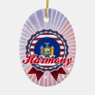 Harmony NY Christmas Ornaments
