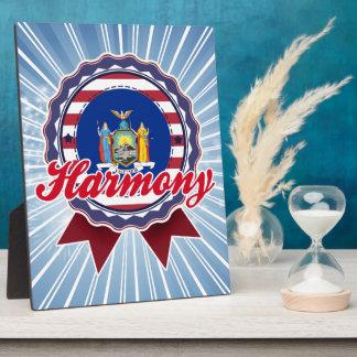 Harmony NY Photo Plaque