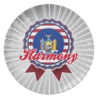 Harmony NY Party Plates